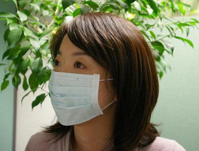 日清紡 ゼオライトマスク使用例