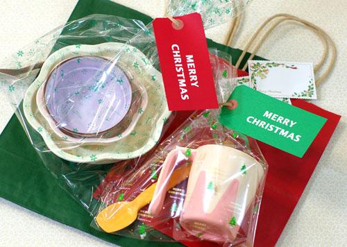 期間限定クリスマスラッピングセットプレゼント