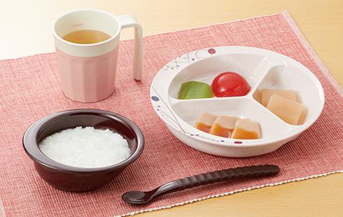 自助皿仕切皿盛りつけ例1