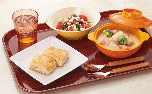 ガラス調食器スプラッシュ使用例